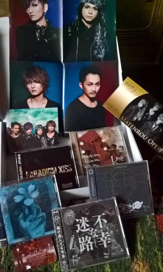 CD-Bestellung gesammelt (mit Poster)